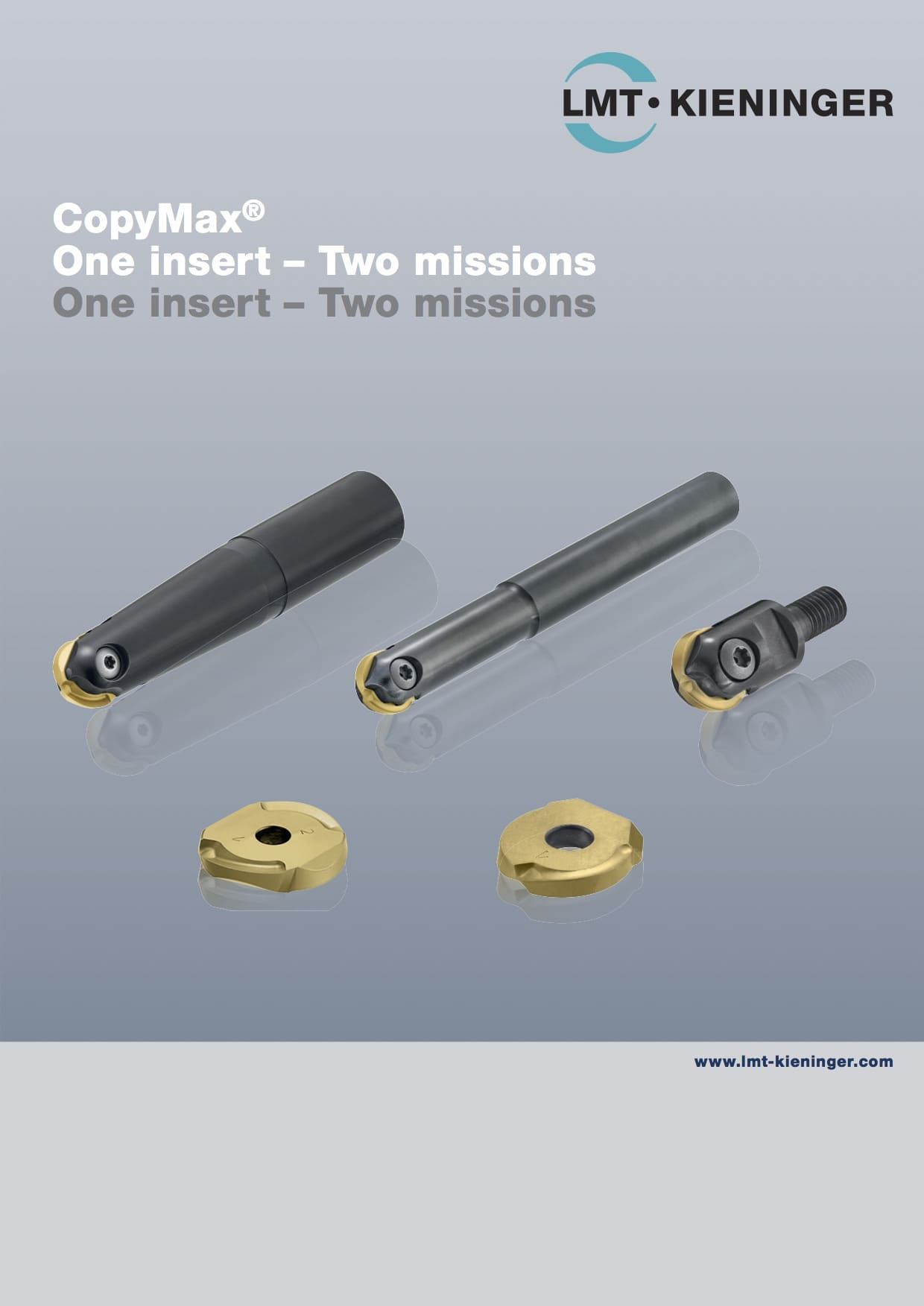 CopyMax - One insert Two missions