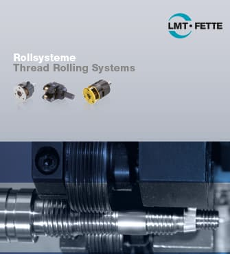 Thread Rolling Systems