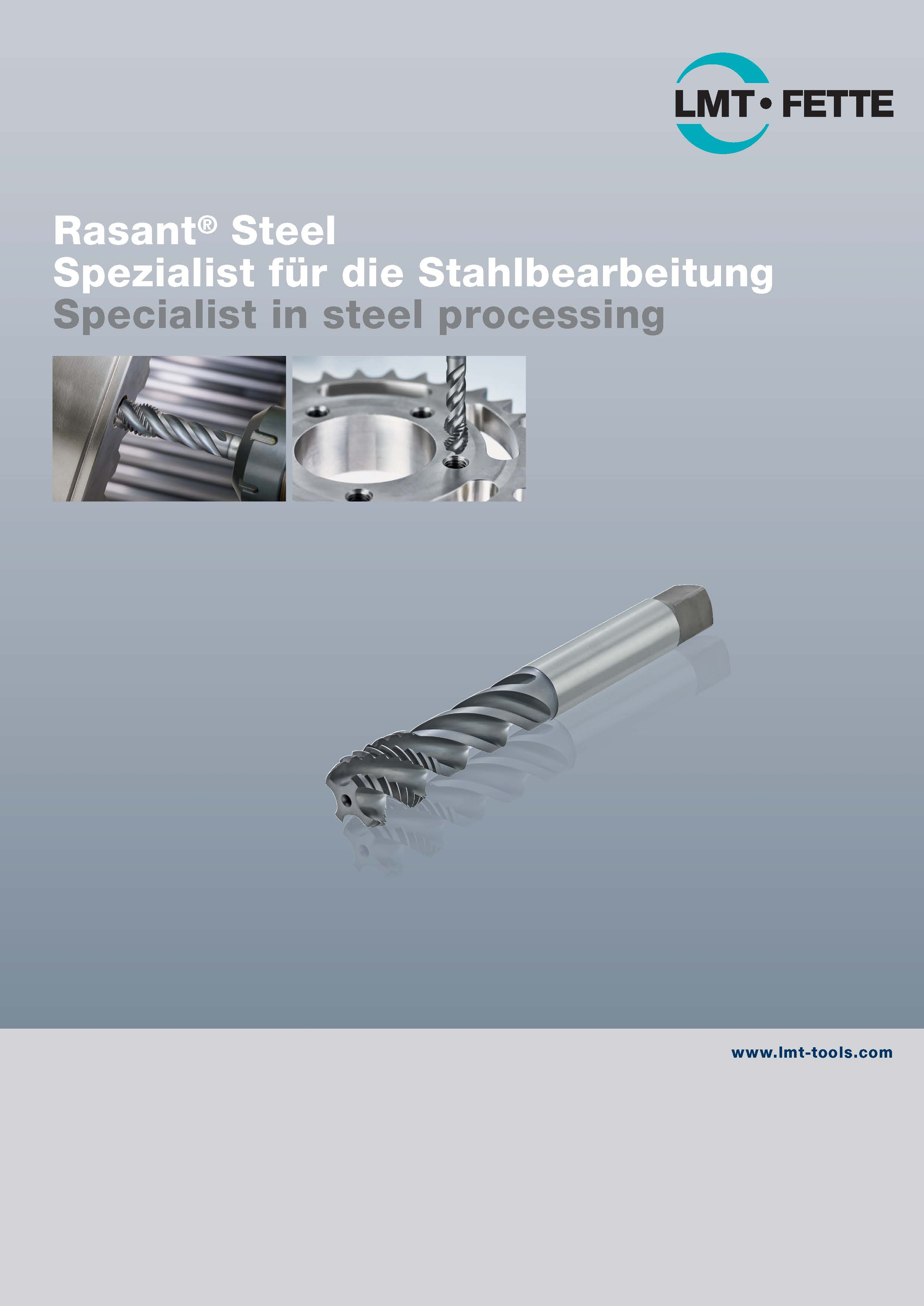 Rasant Steel: Tap for steel processing