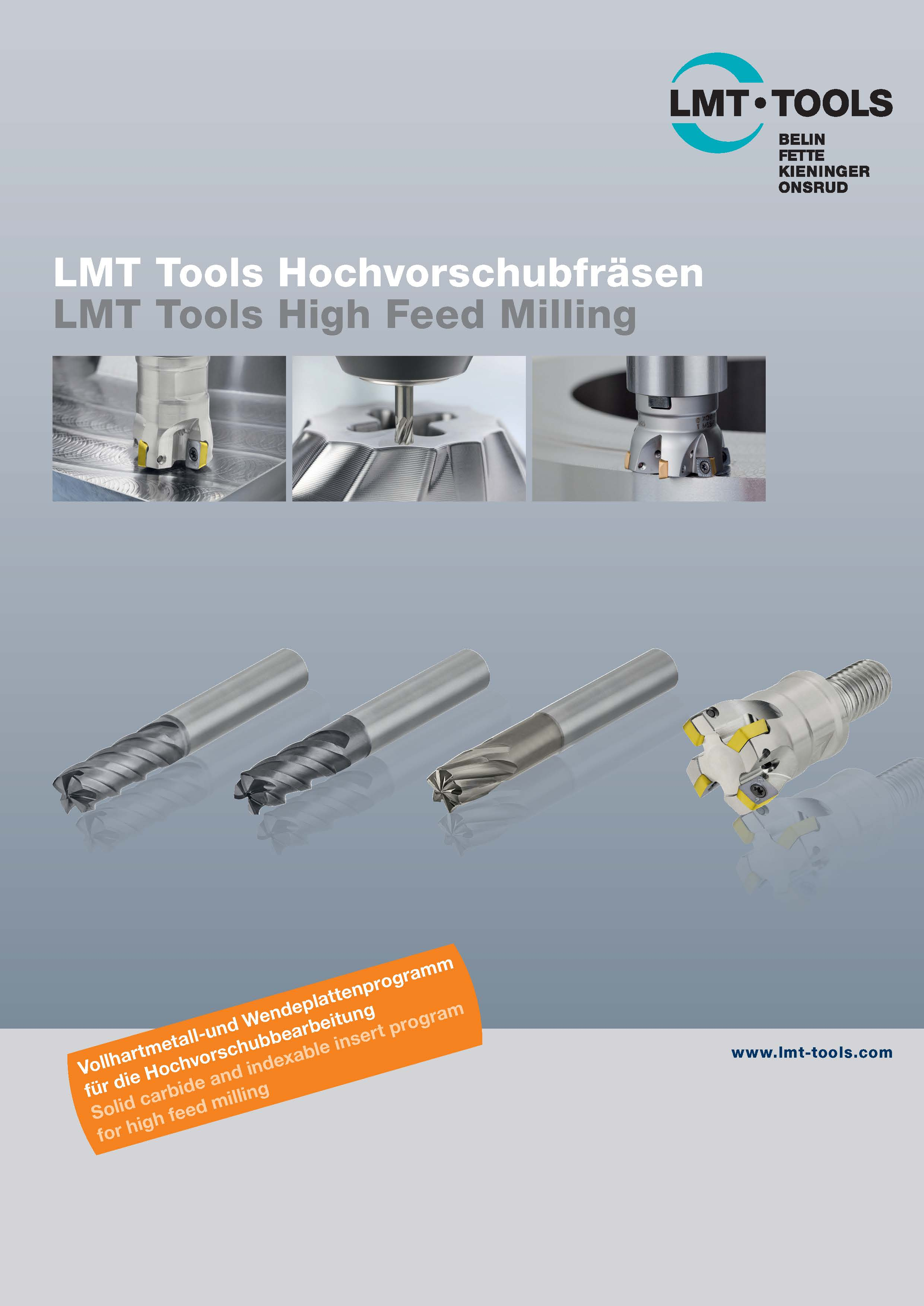 LMT Tools High Feed Milling
