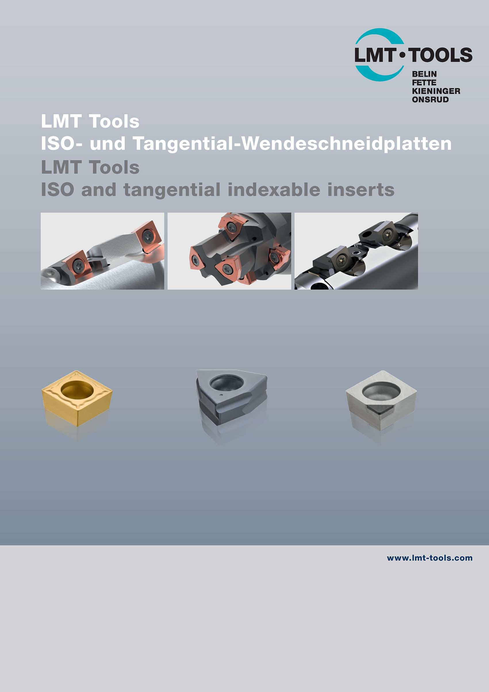 ISO and tangential indexable inserts