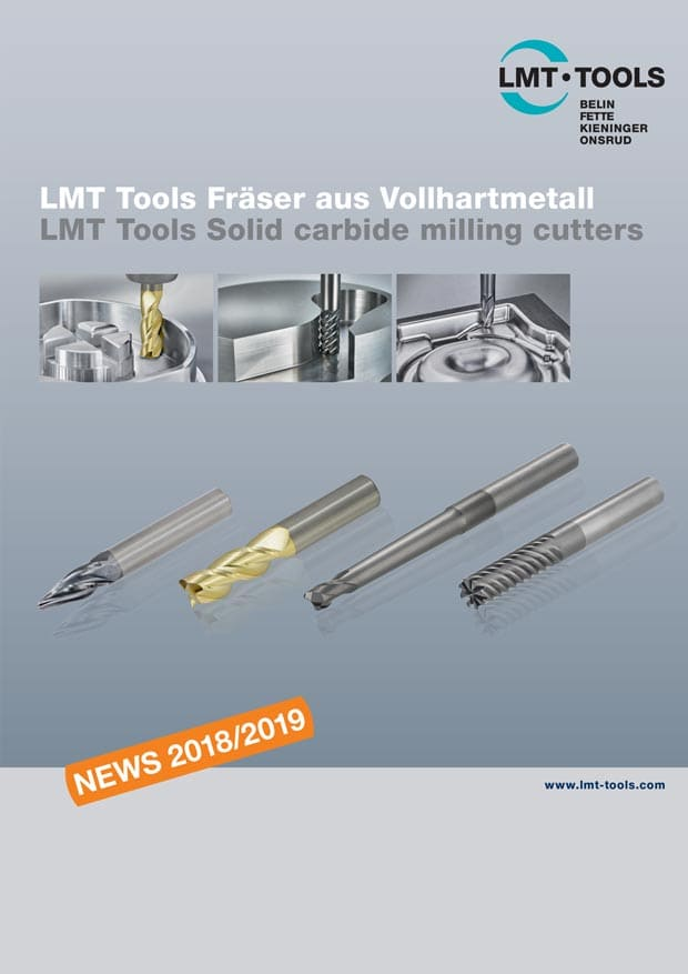 New: LMT Tools Solid carbide milling cutters