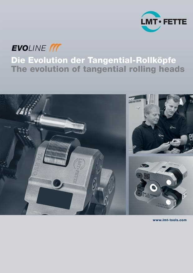 The evolution of tangential rolling heads