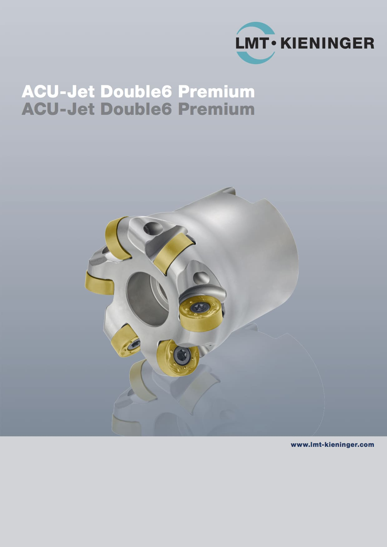 Copy cutter ACU-Jet Double6 Premium for ISO P, M, K, S