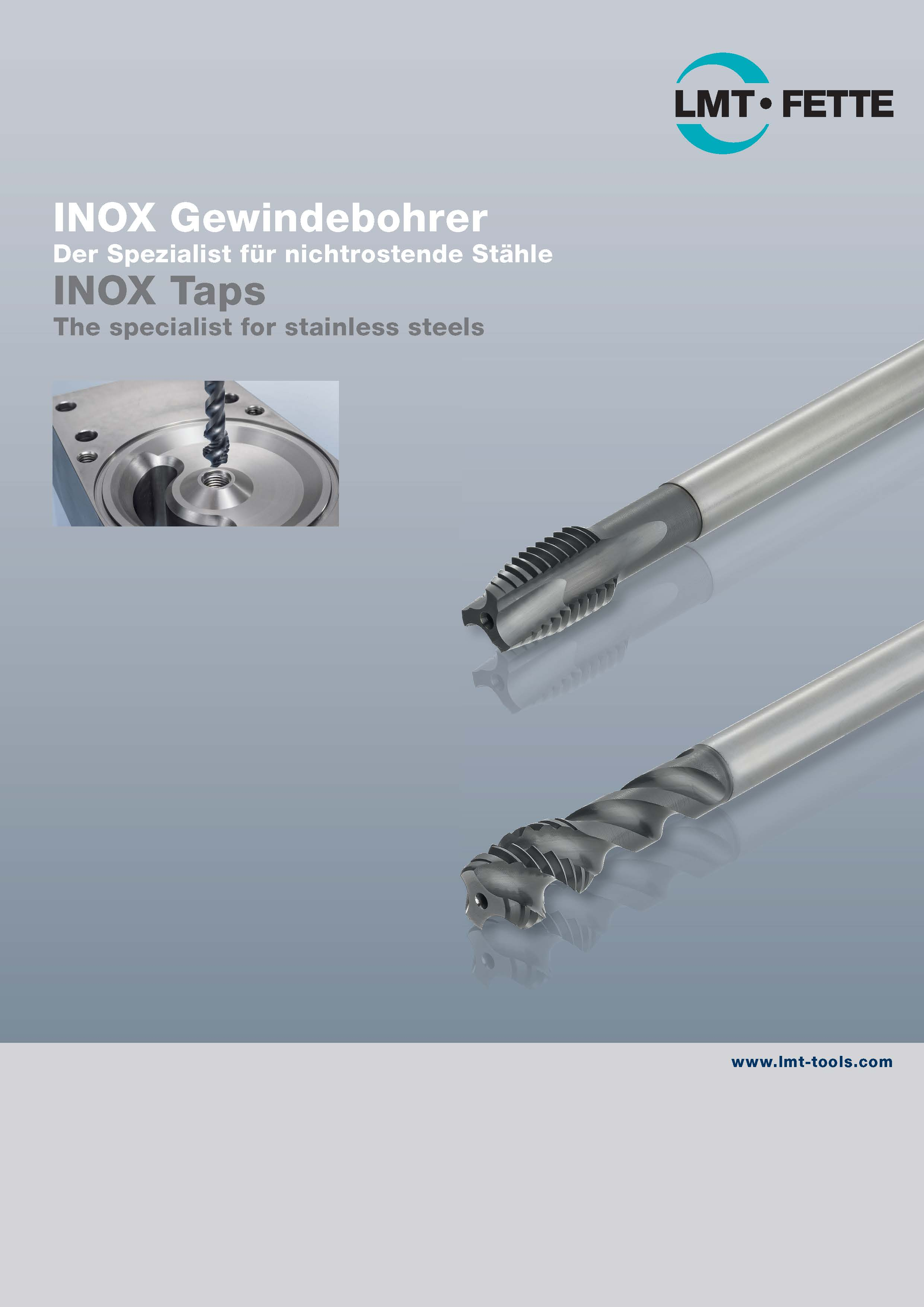 INOX Taps - The specialist for stainless steels