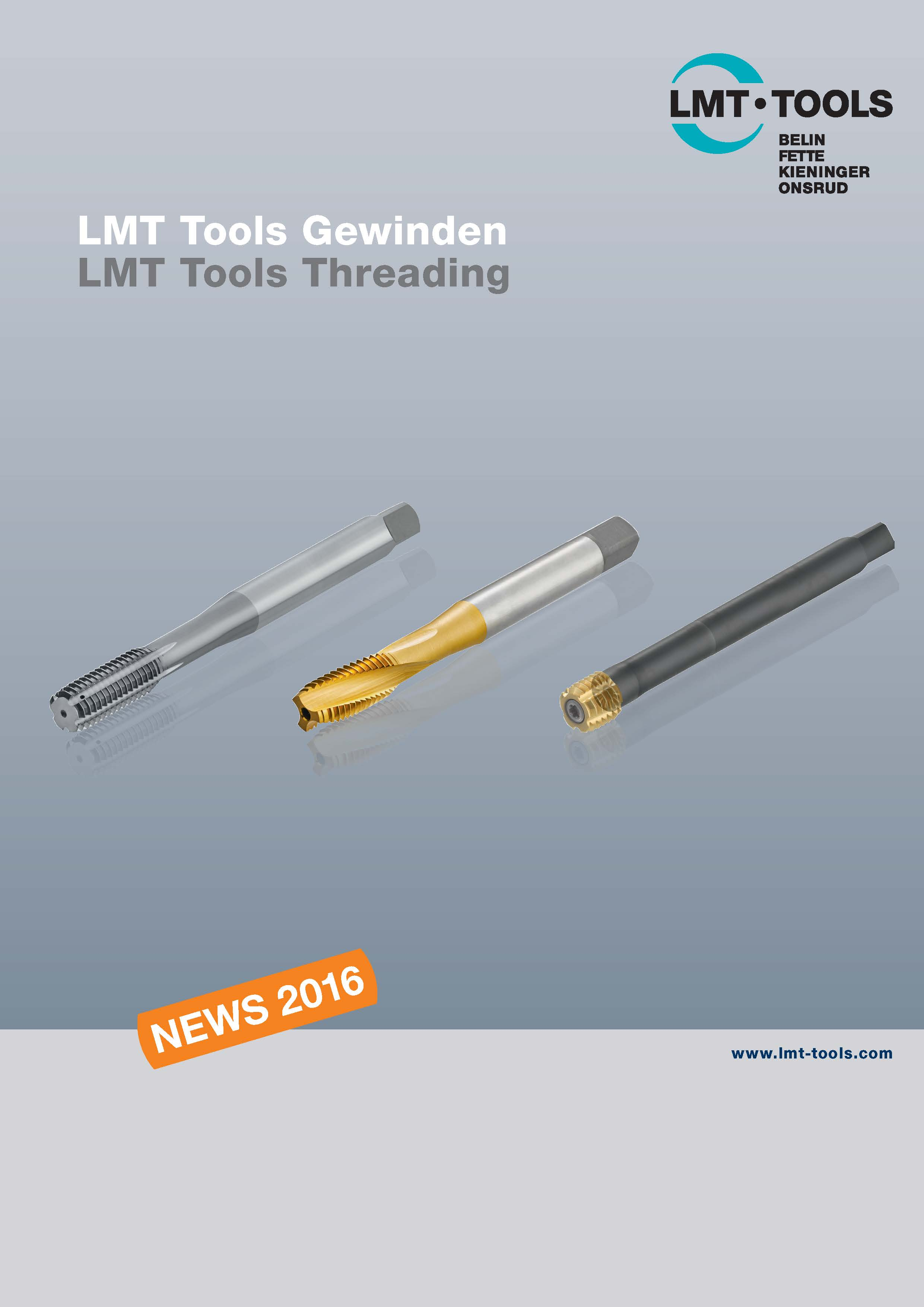 LMT Tools Threading - News 2016