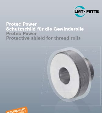 Protec Power - Protective shield for thread rolls
