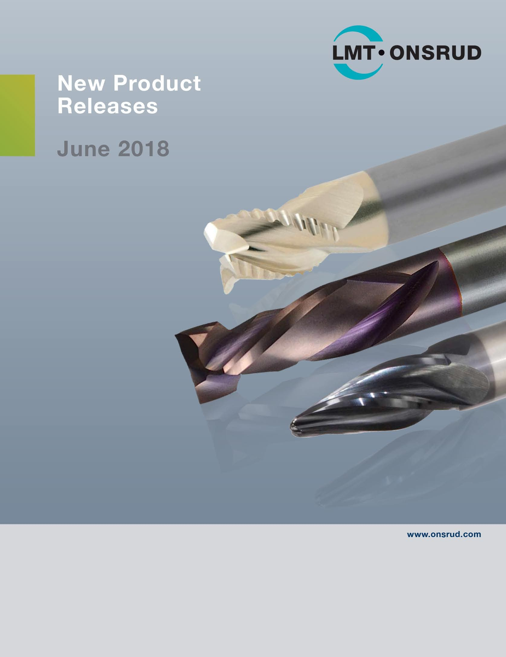 LMT Onsrud - New Product Releases June 2018