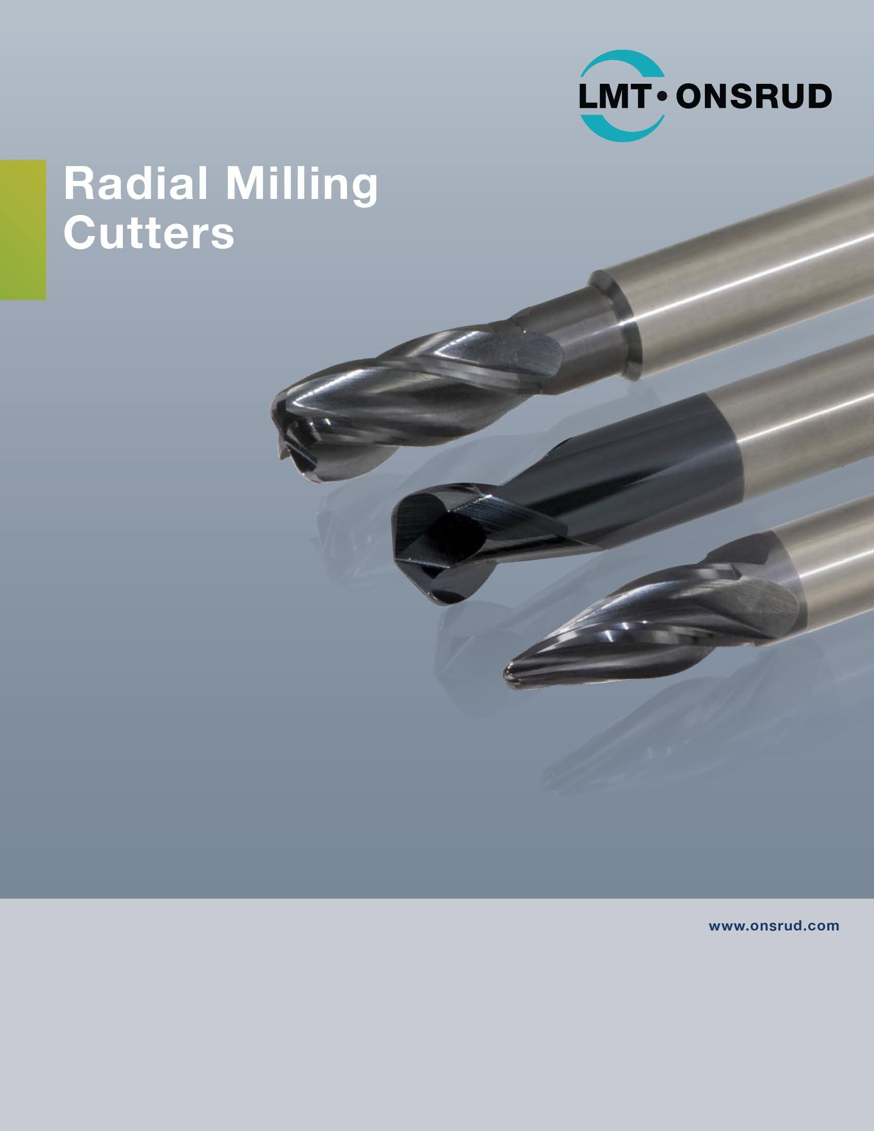 LMT Onsrud - Radial Milling Cutters